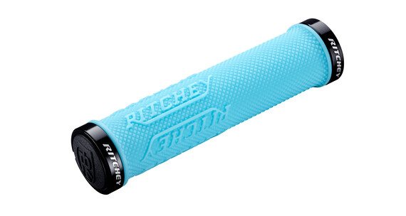 Ritchey WCS True Grip X Cykelhåndtag Lock-On blå/turkis